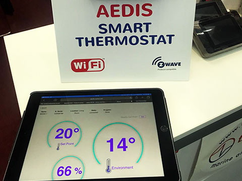 Aedis Smart Thermostat Amsterdam
