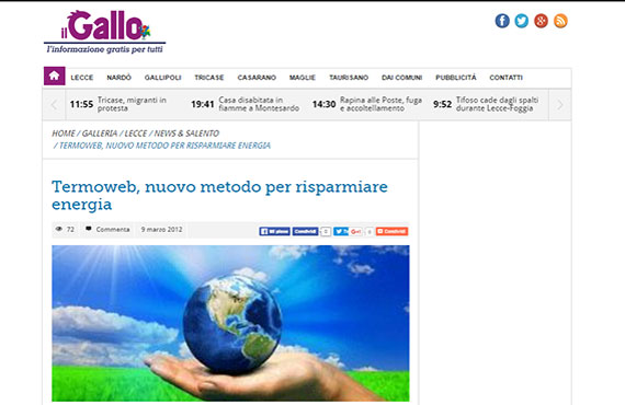 Il Gallo Web about Webelettronica